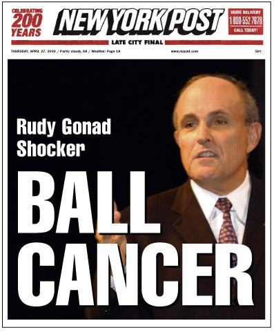 Gonad Shocker: Ball Cancer